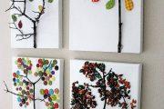 Фото 11 Панно из природных материалов: 60 потрясающих идей для шедевров своими руками