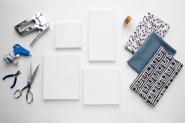 Материалы и инструменты для изготовления основы панно