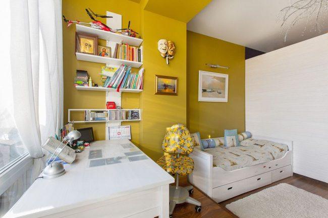 Стиль контемпорари в интерьере детской комнаты