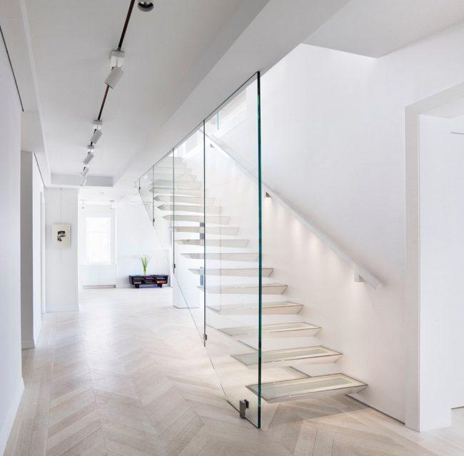Интерьер частного дома в стиле контемпорари
