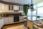 Фото 1 Угловая тумба под мойку на кухню: размеры, виды и 70 вариантов удобного размещения