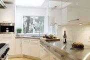 Фото 2 Угловая тумба под мойку на кухню: размеры, виды и 70 вариантов удобного размещения