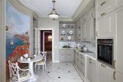 Фото 3 Угловая тумба под мойку на кухню: размеры, виды и 70 вариантов удобного размещения