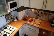 Фото 9 Угловая тумба под мойку на кухню: размеры, виды и 90+ вариантов удобного размещения
