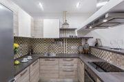 Фото 12 Угловая тумба под мойку на кухню: размеры, виды и 70 вариантов удобного размещения