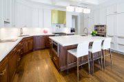 Фото 19 Угловая тумба под мойку на кухню: размеры, виды и 70 вариантов удобного размещения