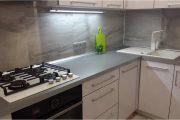 Фото 24 Угловая тумба под мойку на кухню: размеры, виды и 70 вариантов удобного размещения