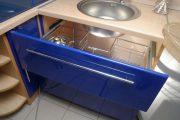 Фото 31 Угловая тумба под мойку на кухню: размеры, виды и 90+ вариантов удобного размещения
