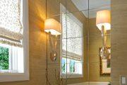 Фото 12 Зеркальная плитка в интерьере: как использовать глянцевые акценты и обзор лучших сочетаний
