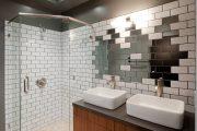 Фото 18 Зеркальная плитка в интерьере (105+ фото): как использовать глянцевые акценты и обзор лучших сочетаний