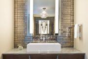 Фото 20 Зеркальная плитка в интерьере (105+ фото): как использовать глянцевые акценты и обзор лучших сочетаний