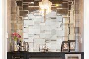 Фото 35 Зеркальная плитка в интерьере (105+ фото): как использовать глянцевые акценты и обзор лучших сочетаний