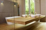 Фото 43 Зеркальная плитка в интерьере: как использовать глянцевые акценты и обзор лучших сочетаний