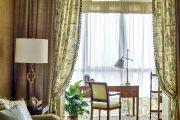 Фото 11 Зонирование шторами: 80 лучших идей для рационального использования пространства