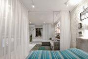 Фото 13 Зонирование шторами: 80 лучших идей для рационального использования пространства