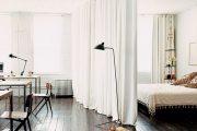 Фото 24 Зонирование шторами: 80 лучших идей для рационального использования пространства