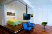 Фото 26 Зонирование шторами: 80 лучших идей для рационального использования пространства