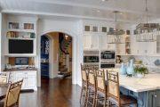 Фото 10 Арка на кухню вместо двери: 80 функциональных вариантов для вашего дома