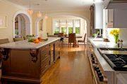 Фото 27 Арка на кухню вместо двери: 80 функциональных вариантов для вашего дома