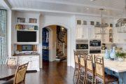 Фото 33 Арка на кухню вместо двери: 80 функциональных вариантов для вашего дома