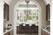 Фото 44 Арка на кухню вместо двери: 80 функциональных вариантов для вашего дома