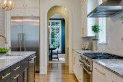 Фото 7 Арка на кухню вместо двери: 80 функциональных вариантов для вашего дома