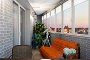 Фото 4 Балкон в стиле лофт: советы по расширению пространства и 70+ стильных реализаций