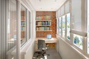 Фото 25 Балкон в стиле лофт: советы по расширению пространства и 85+ стильных реализаций