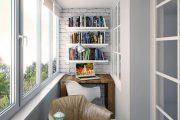 Фото 39 Балкон в стиле лофт: советы по расширению пространства и 85+ стильных реализаций