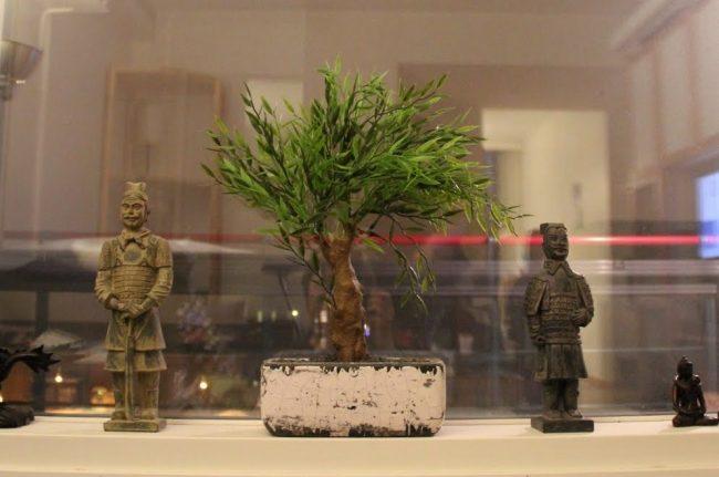 Горшок для бонсай, сделанный своими руками из дерева, с эффектом состаривания