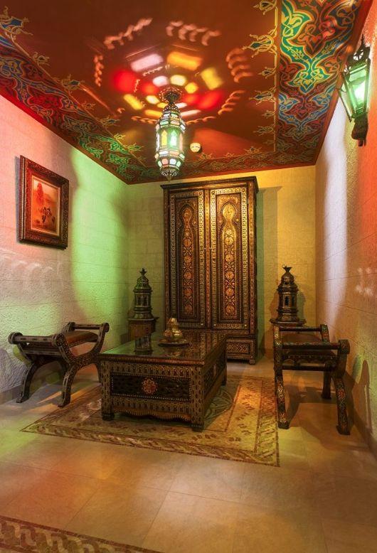 Комната для курения кальяна