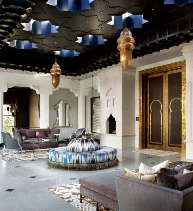 Интерьеры махараджей - это сказочные дворцы в восточном стиле