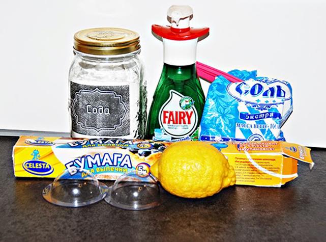 С помощью такого набора ингредиентов можно самому сделать освежитель для измельчителя или водостока
