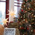 Как украсить офис к Новому году: 80 простых и элегантных вариантов фото