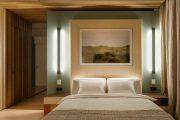 Фото 28 Картины в спальню над кроватью: размещение по фен-шуй и 70+ универсальных сюжетов