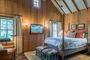 Фото 38 Картины в спальню над кроватью: размещение по фен-шуй и 70+ универсальных сюжетов