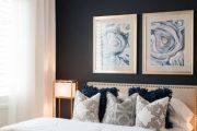 Фото 48 Картины в спальню над кроватью: размещение по фен-шуй и 70+ универсальных сюжетов
