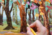 Фото 8 Картины из лоскутов ткани: мастер-классы и вдохновляющие идеи своими руками