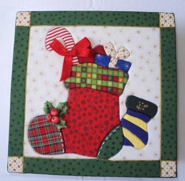 Картины из лоскутков ткани: дети так же могут быстро научиться создавать такие картины