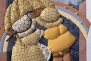 Фото 41 Картины из лоскутов ткани: мастер-классы и вдохновляющие идеи своими руками