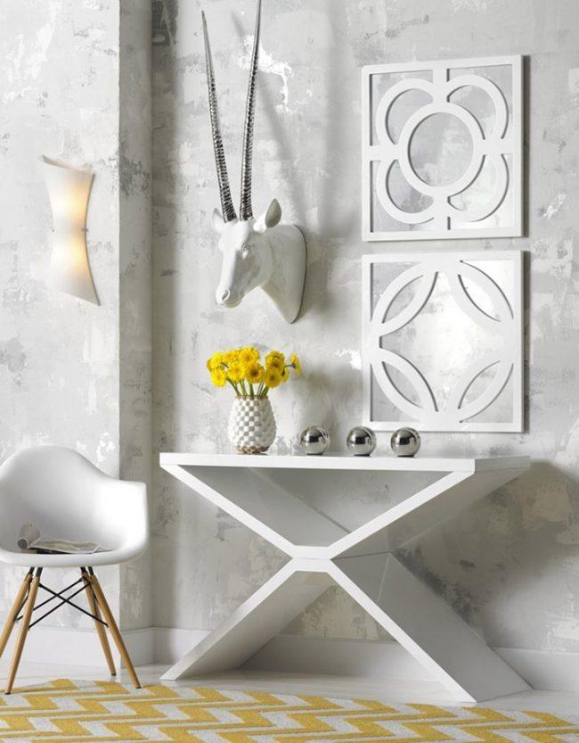 Классический белый цвет будет гармонично смотреться в любом стиле