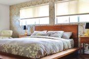 Фото 37 Стоит ли ставить кровать изголовьем к окну? Плюсы, минусы и 80 комфортных реализаций