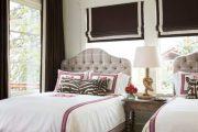 Фото 39 Стоит ли ставить кровать изголовьем к окну? Плюсы, минусы и 80 комфортных реализаций