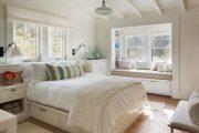 Фото 43 Стоит ли ставить кровать изголовьем к окну? Плюсы, минусы и 80 комфортных реализаций