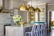 Фото 12 Кухня цвета слоновой кости: благородство оттенков айвори в вашем доме