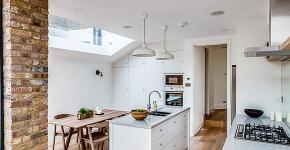 Кухня-столовая в частном доме: секреты зонирования и практические советы по декору фото