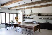 Фото 7 Кухня-столовая в частном доме: секреты зонирования и практические советы по декору