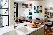 Фото 5 Кухня-столовая в частном доме: секреты зонирования и практические советы по декору
