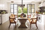Фото 6 Кухня-столовая в частном доме: секреты зонирования и практические советы по декору