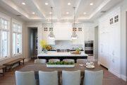 Фото 11 Кухня-столовая в частном доме: секреты зонирования и практические советы по декору